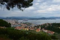 Blick über den Hafen von La Spezia, Italien