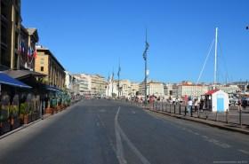 Auf den Straßen von Marseille