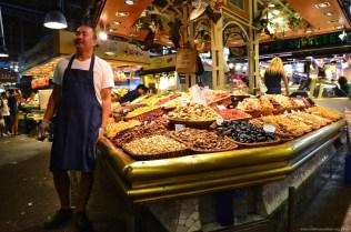 Händler im Mercado de La Boqueria, Barcelona