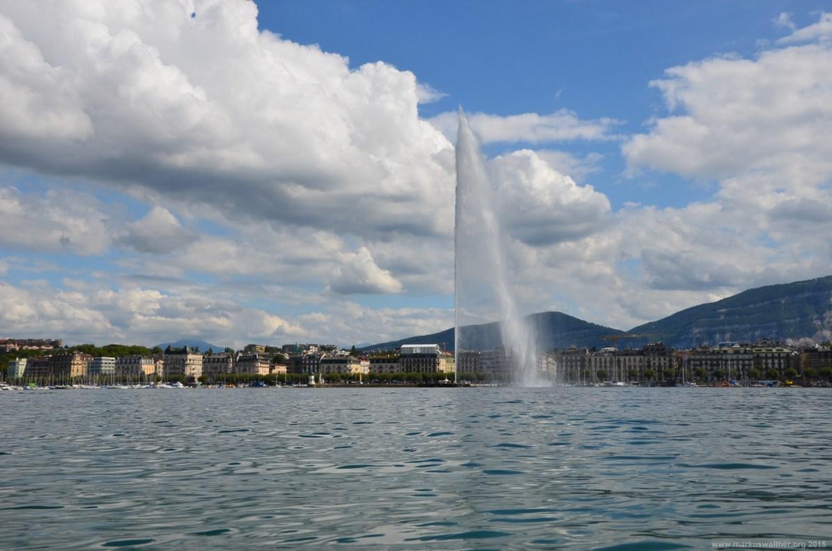 Jet d'eau - Die Fontäne des Genfer Sees