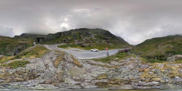 Auf dem Weg zum Grossen Sankt Bernhard Pass