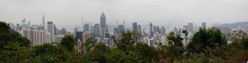 032 Hongkong Stubbs Road Lookout Panorama