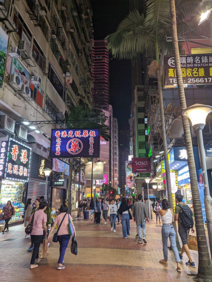 087 Hongkong Causeway Bay Night 1