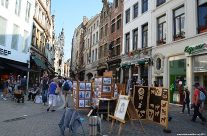 Blick in Richtung Grand Place