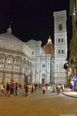 Kathedrale Santa Maria del Fiore bei Nacht