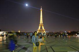 Auf dem Trocadéro