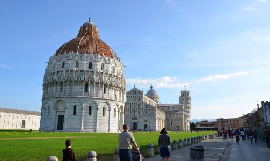 Ein Abstecher nach Pisa