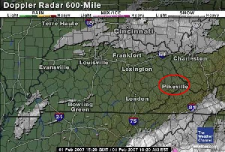 Radar for eastern kentucky