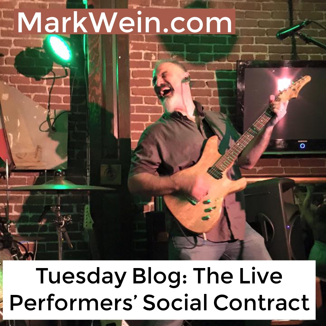 The Live Performer's Social Contract