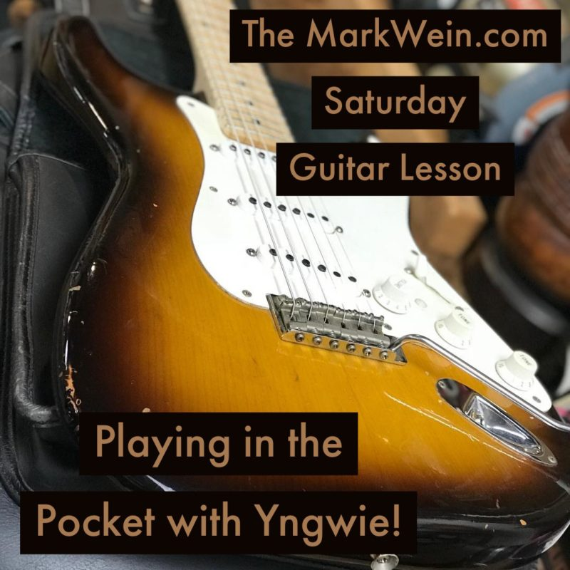 Playing in the Pocket with Yngwie!