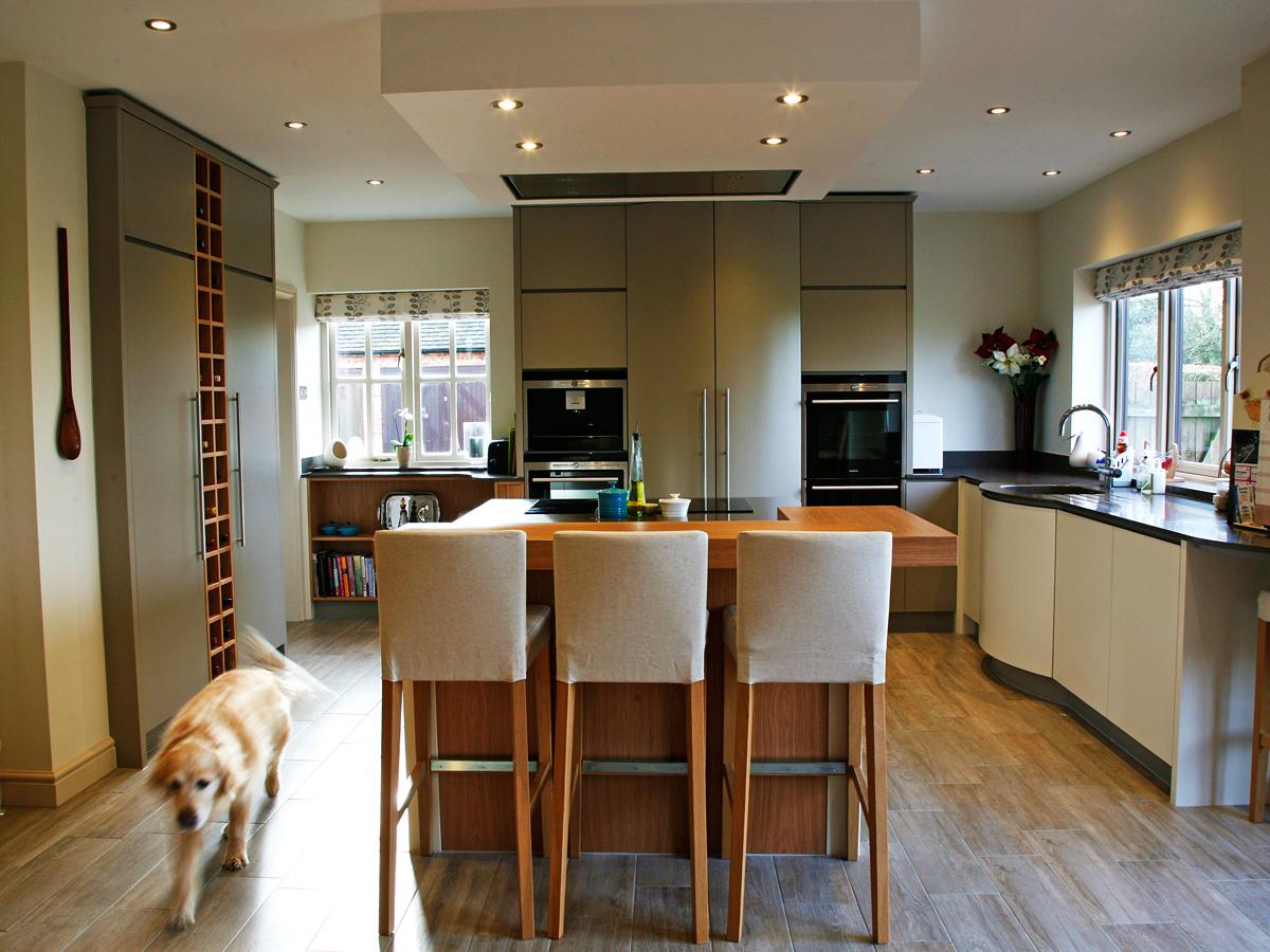 Mark Williamson Furniture Buckinghamshire - contemporary kitchen