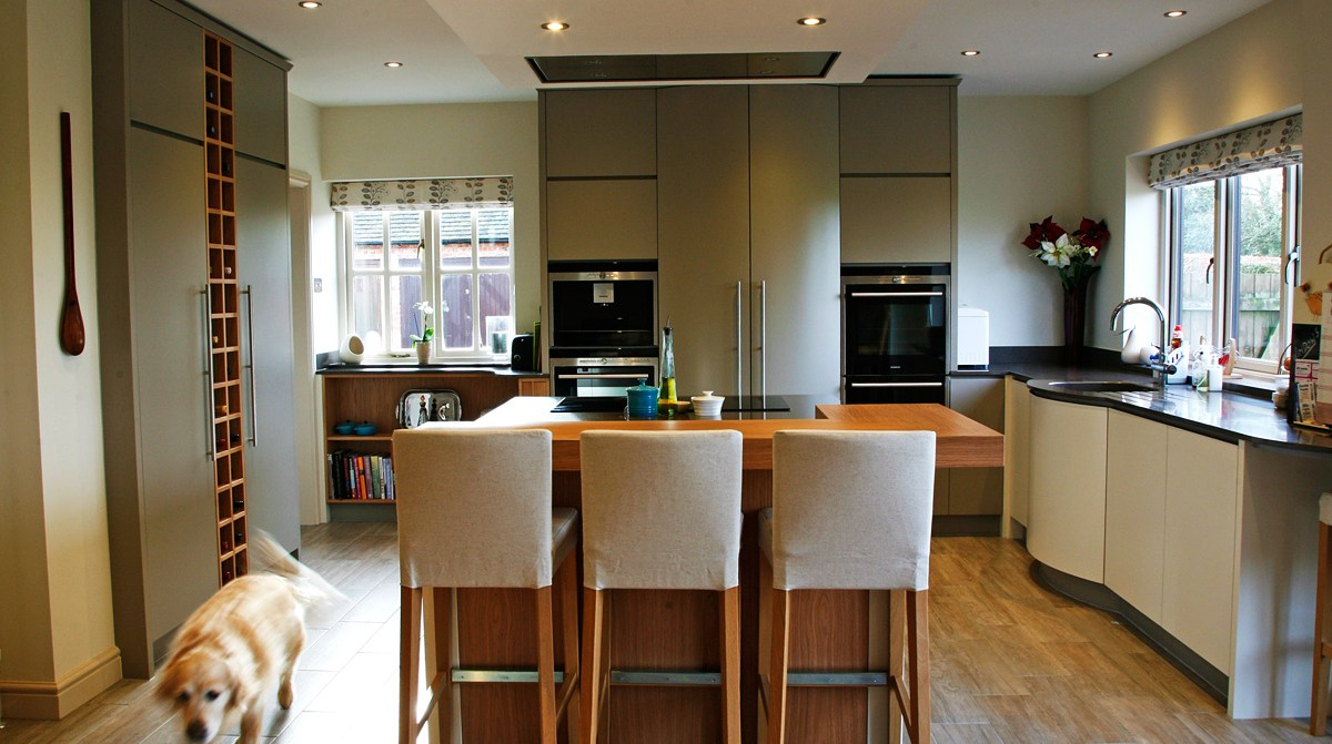 Mark Williamson Furniture Buckinghamshire - contemporary kitchen