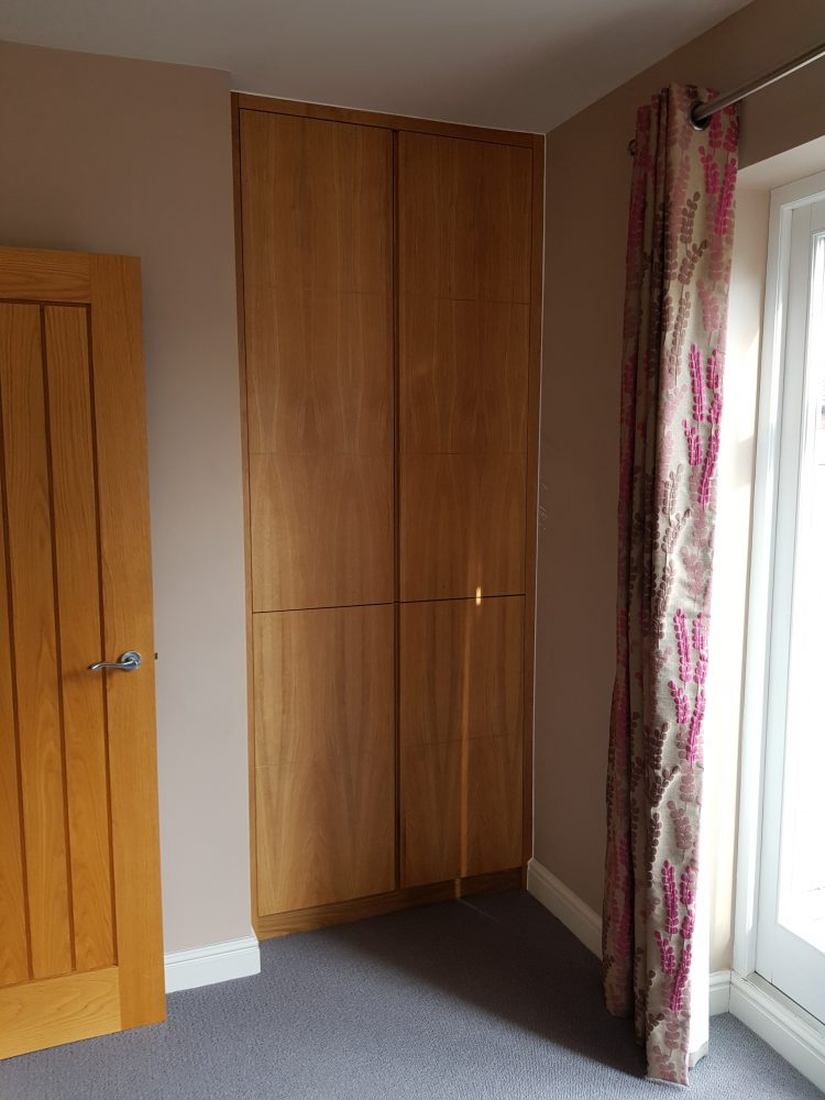 Double doors with simple detailing give a streamlined look