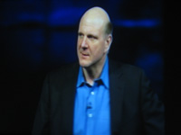 Steve Ballmer at the Microsoft 2008 Global Launch