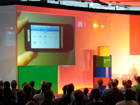Android demo at Google Developer Day 2008