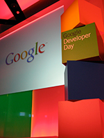 Stage at Google Developer Day 2008