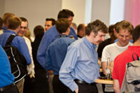 Delegates network at Interact 2009 (UK event)