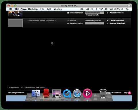 iPlayer Desktop too big for the display