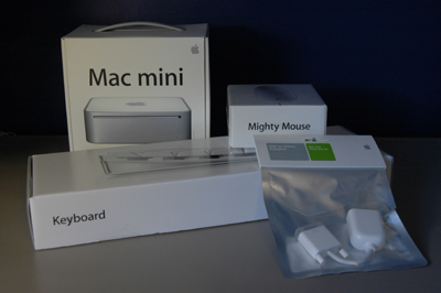 My new Mac.  Still in the box.  Look at all that gorgeous packaging