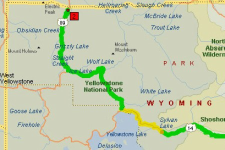 map of wyoming and yellowstone » Free Interior Design | Mir Detok