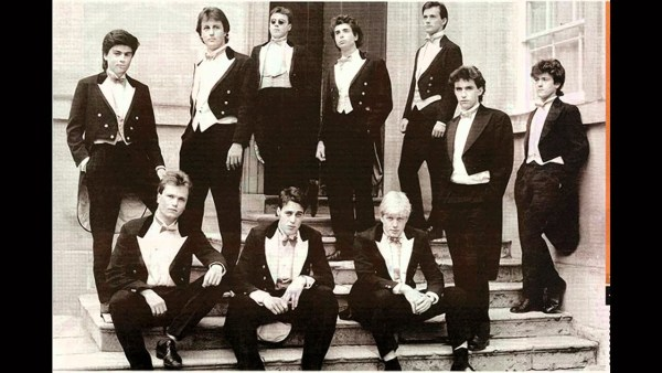David Cameron et Boris Johnson au Bullingdon Club Oxford Riot Club