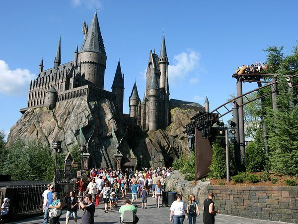 Le parc d'attractions Harry Potter à Orlando, en Floride