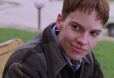 Brandon Teena (Hilary Swank) dans Boys don't cry de Kimberly Peirce (1999)