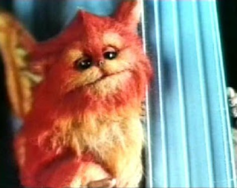 Fuzzball, adorable créature dans Captain EO, de Francis Ford Coppola (1986)