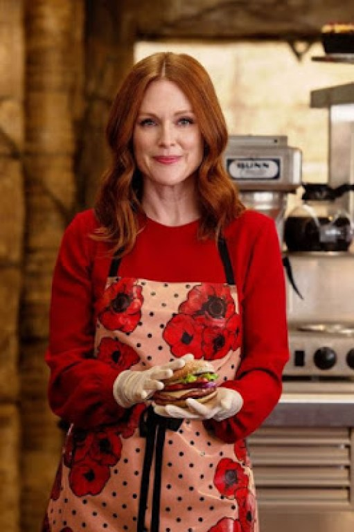 Poppy Adams (Julianne Moore) dans Kingsman, le cercle d'or