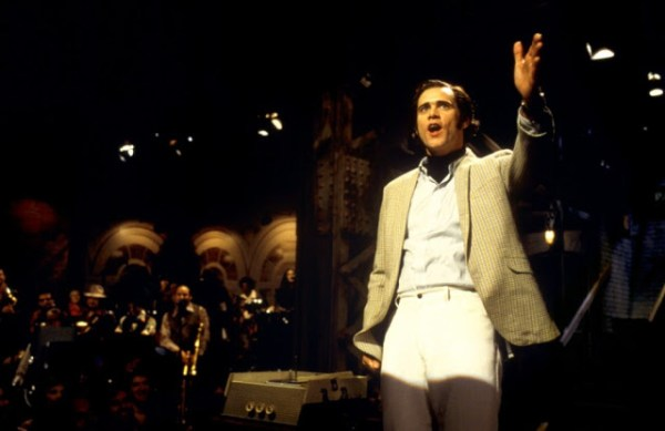 Andy Kaufman (Jim Carrey), protagoniste du biopic Man on the moon, réalisé par Milos Forman (1999)