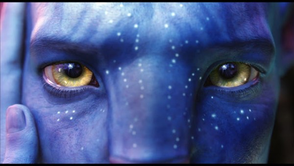 Jake Sully (Sam Worthington) dans Avatar de James Cameron (2009)