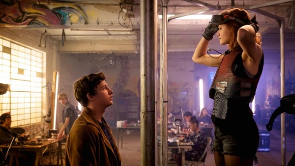 Wade (Tye Sheridan) et Samantha (Olivia Cooke) dans Ready Player One