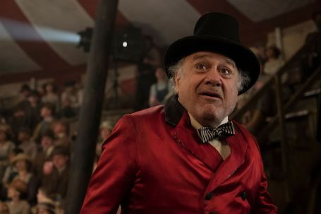 Danny DeVito en Monsieur Loyal dans Dumbo de Tim Burton (2019)