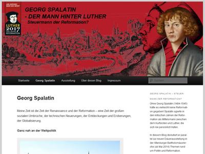 In Altenburg wird das Thüringer Themenjahr Reformation und Politik mit zwei Ausstellungen, einer App und einem Blog für den Reformator Georg Spalatin begangen.