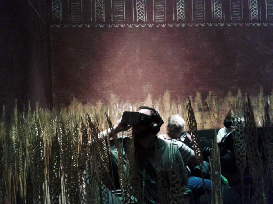 Im Moesgaard Museum in Aarhus kann man sich per VR-Technologie in die Steinzeit zurückversetzen lassen.