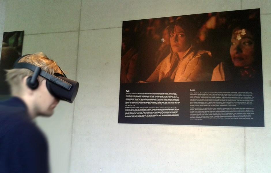 """In der Ausstellung """"Rejsen"""" war die VR-Technik meiner Meinung nach nicht unbedingt notwendig."""