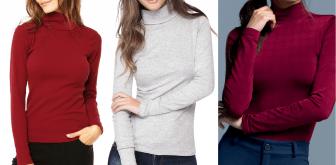 Uma blusinha clássica para o inverno com esquema de modelagem do PP ao EXGG.