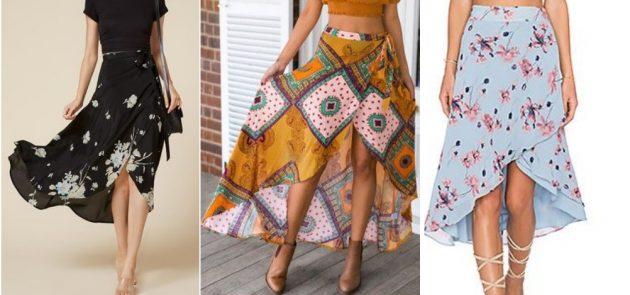 Esquema de modelagem de saia envelope godê moulet do 36 ao 56.