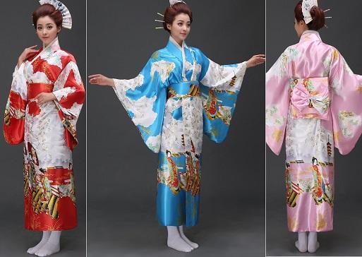 Esquema de modelagem de kimono tradicional japonês (yukata) do P ao GG.