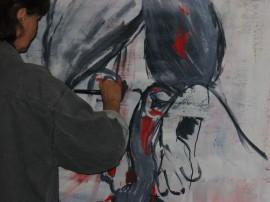 Experimentelle Malerei Im Haus Des Gastes Chiemgau