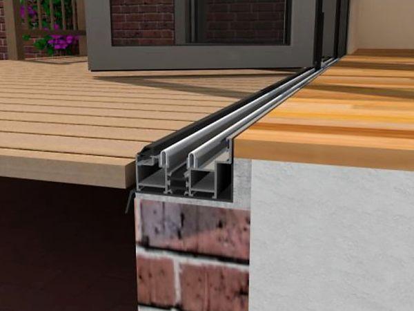 flush threshold aluminium sliding doors