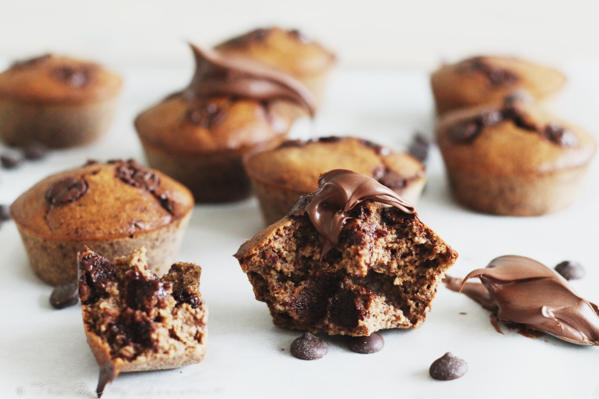 havermout chocolade muffins