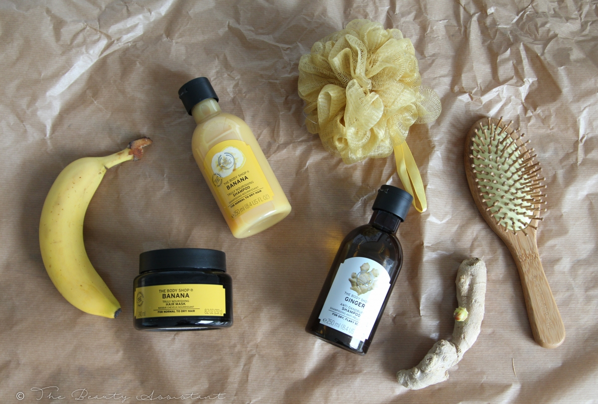 The Body Shop Banana & Ginger Haarproducten