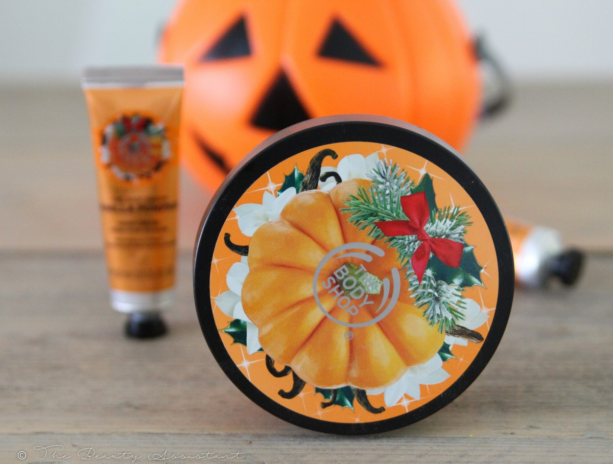 The Body Shop Vanilla Pumpkin Halloween Edition