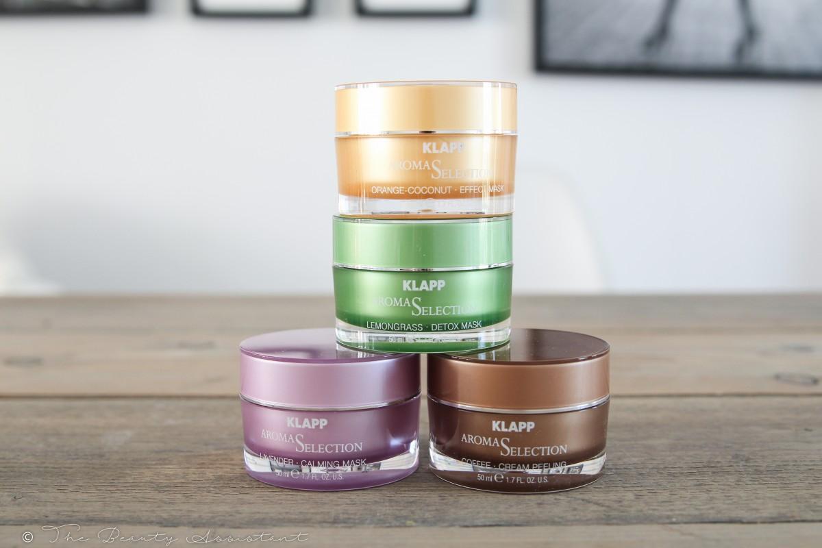 Aroma Peeling en Gezichtsmaskers van Klapp Cosmetics