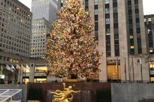 Kerst vieren in New York