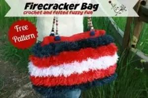Firecracker Bag Pattern FREE at MarlyBird.com