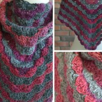 Free Crochet Shawl: No Stopping Me Now