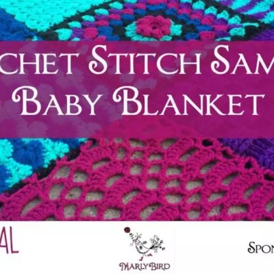 Crochet Stitch Sampler Baby Blanket CAL Details