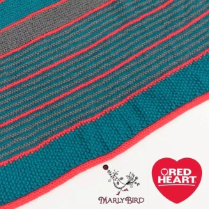 Marly Bird Garter Stitch Shawl KAL Free Pattern